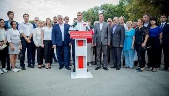 Alexandr Nesterovschi a fost înregistrat în calitate de candidat PSRM la funcția de primar al municipiului Bălți