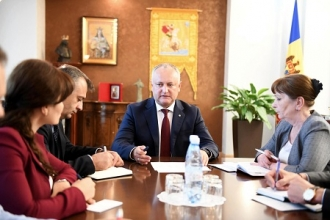 Igor Dodon a prezidat o ședință de lucru cu privire la organizarea celei de-a II-a ediții a Forumului Economic moldo-rus
