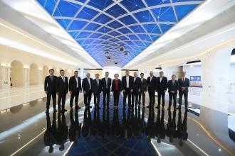 Zinaida Greceanîi a vizitat Centrul expozițional al companiei Huawei din Beijing