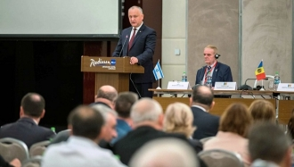 Igor Dodon a participat la deschiderea Conferinței Naționale