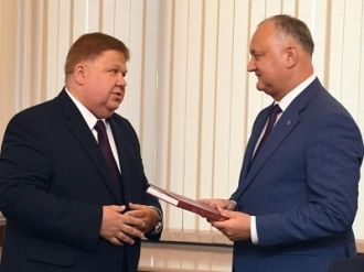 Președintele țării a avut o întrevedere cu viceguvernatorul regiunii Briansk