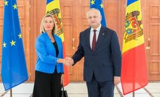 Mogherini: UE sprijină reformele Guvernului de la Chișinău