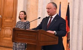 Șeful statului a participat la recepția oferită de Ambasada Republicii Federale Germania