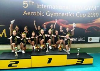 La Chișinău se desfășoară Campionatul deschis la gimnastică aerobică 2019