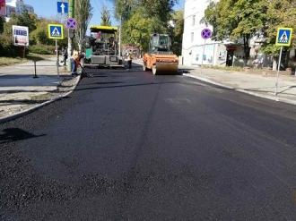 Schimbarea la față a străzii Nicolai Zelinski