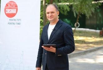 Ion Ceban își propune să reamenajeze toate spațiile verzi din Capitală
