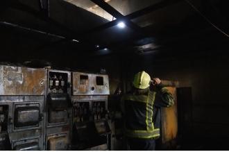 Un incendiu puternic s-a produs într-un depozit din Capitală