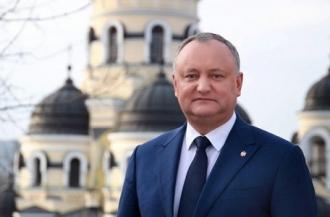 Igor Dodon a felicitat Chișinăuenii cu Hramul orașului și creștinii cu sărbătoarea Acoperămîntul Maicii Domnului