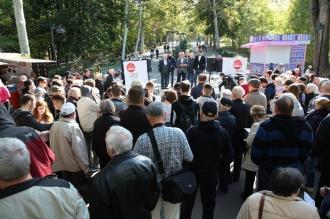 Ion Ceban a discutat cu locuitorii Capitalei despre problemele stringente ale orașului