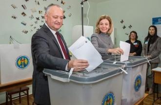 Igor Dodon: Am votat pentru un profesionist