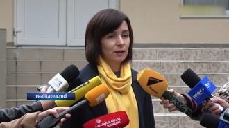 Maia Sandu a votat pentru consolidarea luptei împotriva sistemului mafiot
