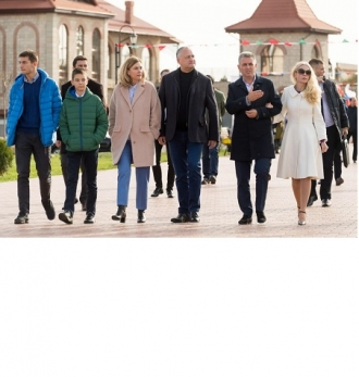 Șeful statului a avut ieri o întrevedere neformală cu liderul de la Tiraspol, Vadim Krasnoselski