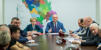 Fracțiunea PSRM a discutat subiecte de actualitate cu șeful statului