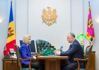 Șeful statului a avut o întrevedere cu Guvernatorul Autonomiei Găgăuze