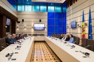 Zinaida Greceanîi s-a întâlnit cu membrii Grupului pentru relații interparlamentare cu Moldova din Parlamentul Lituaniei