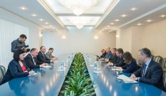 Președintele țării a avut  o întrevedere cu o delegație de parlamentari lituanieni