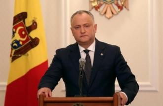 Igor Dodon a numit două posibile modalități de numire a unui nou procuror general