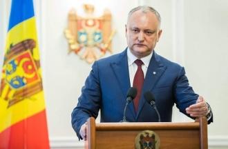Igor Dodon a numit prioritățile activității noului Guvern