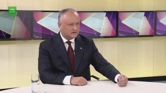 Спецвыпуск с президентом Республики Молдова Игорем Додоном 14-11-2019
