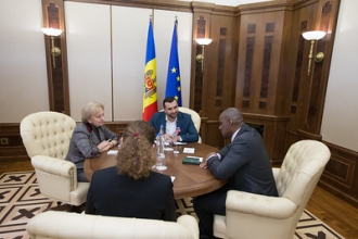 Președintele Parlamentului a avut o întrevedere cu ambasadorul SUA