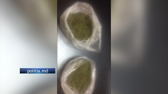 Un angajat al Poliției de Frontieră Sculeni a fost reținut pentru trafic de marijuana