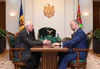 Igor Dodon l-a numit pe Vasilii Șova în funcția de consilier prezidențial în domeniul politicii și reintegrării