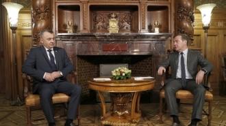 Prim-ministrul Ion Chicu a avut o întrevedere cu premierul Federației Ruse, Dmitri Medvedev