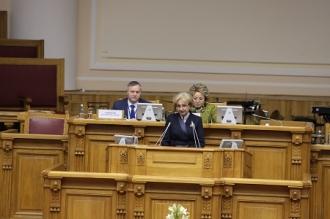 Președintele Parlamentului Zinaida Greceanîi a participat la cea de-a 50-cea ședință a Adunării Interparlamentare a CSI