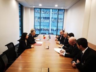 Premierul Ion Chicu s-a întâlnit cu omologul său din Azerbaidjan