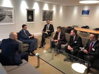 O delegație a Republicii Moldova întreprinde o vizită de lucru la Consiliul Europei