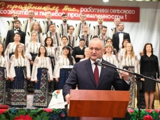 """Igor Dodon a vizitat colholzul """"Pobeda"""" din satul Copceac, UTA Găgăuzia și a participat la sărbătoarea dedicată agricultorilor din Taraclia"""