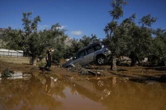 Furtună apocaliptică în Grecia