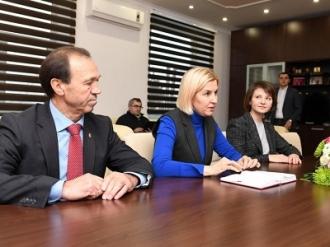Președintele țării a avut o întrevedere cu bașcanul Găgăuziei