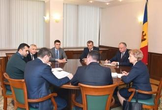 Igor Dodon a prezidat o ședință cu privire la problemele socio-economice și politice