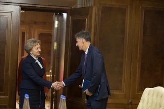 Președintele Parlamentului a avut o întrevedere cu noul ambasador al Israelului