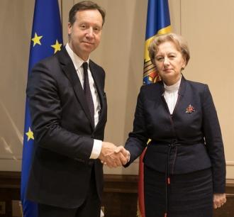 Zinaida Greceanîi s-a întâlnit cu ambasadorul Olandei
