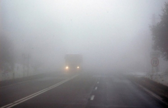 Cod galben de ceață în toată țară