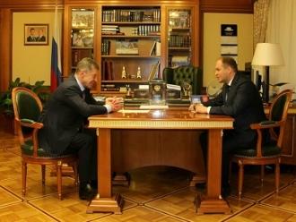 Ion Ceban s-a întâlnit cu Dmitrii Kozak