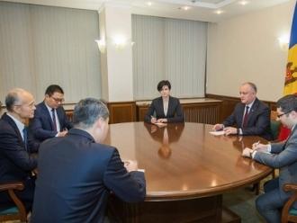 Șeful statului a avut o întrevedere de lucru cu Ambasadorul Chinei