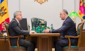 Șeful statului a semnat Decretul privind numirea dlui Dmitri Croitor în funcția de Ambasador al Moldovei în Turcia