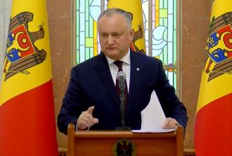 Președintele Igor Dodon a convocat ședința Consiliului Suprem de Securitate, în noua componență