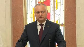 Igor Dodon, cel mai de încredere politician