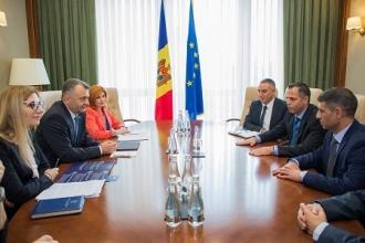 Premierul Ion Chicu a avut o discuție cu un grup de investitori din Israel