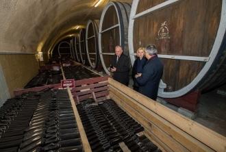 Vizită la fabrica de vinuri din Comrat