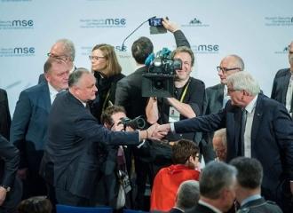 Dodon a făcut totalurile vizitei la Munchen: 12 întrevederi, printre care discuțiile cu Secretarul de Stat al SUA