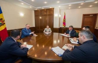 Igor Dodon cere recalcularea facturilor la căldură, pentru ianuarie