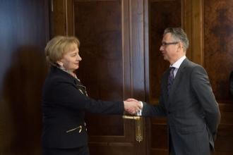 Președintele Parlamentului a avut o întrevedere cu șeful Misiunii OSCE în Moldova