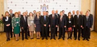 Președintele Parlamentului a participat la inaugurarea Conferinței Internaționale dedicate celei de-a 25-a aniversări a Curții Constituționale