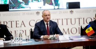 Igor Dodon: Sarcina Curții Constituționale este de a fi un reper pentru instituțiile statului