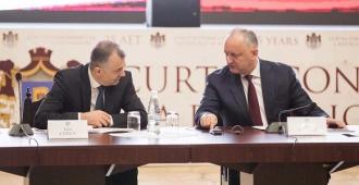 Igor Dodon spune până când premierul Ion Chicu va conduce acest Guvern